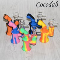 silicone Oil Rigs Glass Bong Accessory Mini Silicone Mouthpi...