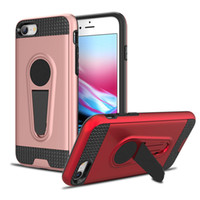 Portamonete Magnetic Kickstand Case per iphone 5 5s se 6 6s 7 8 Plus X Combo Armor Cover Antiurto Shell