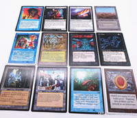 Хорошее качество 126 шт. / лот магия карты настольная игра DIY карты английская версия матовые настольные игры коллекция пользовательских карт TCG классика