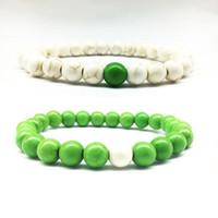 Vente chaude Nouveau 8mm Yoga Bracelet Guérison Du Poignet Mala Perles Chakra Bijoux En Pierre Naturelle Amant Charme Bracelets