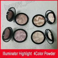 Marque Illuminateur Maquillage Mineur Fondation Poudre Maquillaje 4Color Face Bronzer Might Bronzer Contour Poudre DHL Free