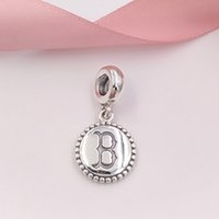 Authentic 925 Sterling Silver Beads Boston Red Sox Charm Dan...