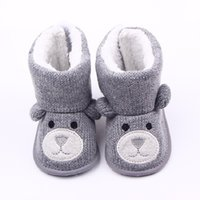 Wholesale- Baby Winter Boots Infant Toddler Newborn Cute Cart...