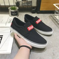 Men Casual Shoes Canvas Male Footwear Comfortable Flat Sneak...