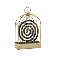 Retro Gold Iron Art Mosquito Coil Holder - Mosquito Repellen...