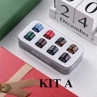 Autentico Aleader Drip Tip Kit A con 8pcs 810 Set B con 4 510 e 6 810 Kit C con 8pcs 510 Bocchini