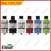 Original Eleaf Melo 4 Atomizer D22 / D25 Kapazität Behälter 0.3ohm / 0,5 Ohm EC2 Spule für Eleaf IKuun I80 / I200 MOD Vape-Behälter
