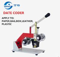 Stampante manuale a caldo con codici di scadenza Codice di stampa Stampante a nastro termico Stampante in plastica
