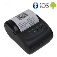 58mm Portable Imprimante Mobile Sans Fil Bluetooth Imprimante Mini Support Thermique Android + IOS