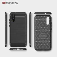 2018 новые случаи мобильного телефона для Huawei P20 P20 Pro роскошные углеродного волокна сверхмощный чехол для Huawei P20 Lite обложка Бесплатная доставка DHL