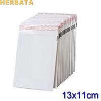 (110 * 130mm) 100pcs / lots White Pearl Film Busta della busta della bolla Borse impermeabili Sacchetti d'imballaggio di imballaggio CL-2022
