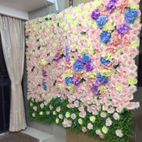 DIY Road Led Wedding Flower Bouquet Artificial Rose Peony Fl...