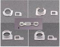 Lentille de la caméra avant + support de capteur de capteur Kit pour iPhone XR XS XSMAX x 8 7 6 6S Plus 5 5S PROXIMITÉ DE PROXIMITÉ SUPPORT DE POCKET PIECES