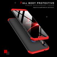 360 Koruyucu kılıf için Xiaomi Mi A2 Lite Xiomi Redmi 5 Artı Not 6 Pro 4X S2 5A Mi Max3 A1 8SE Coque