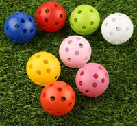 Top Quality 100Pcs 41mm Golf Training Balls Plastic Airflow ...