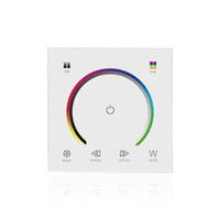 10pcs 86 panel PC dimmer Full colour RGB RGBW touch panel dc...