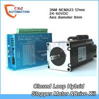 Stepper HBS57 + 57HBS30 CNC NEMA23 3N.m Closed-Loop-Schrittantrieb + Motor-Kits Easy Servo 2ph 4A 1000line Schneidemaschine