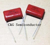 50 unids 400 V 105 1uF CBB MPP Condensador de película de polipropileno metalizado Buena calidad ROHS