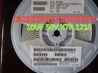 100 sztuk / partia Ceramiczne kondensator 10UF 50 V X7R 1210 C3225X7R1H106M250AC
