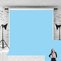 Sonho 5x7ft bebê Sólidos azul da foto de Fundo Pure fundo da cor Photo Vinyl Backdrops para fotógrafo recém-nascido Retrato Tiro do estúdio Prop
