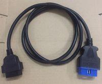 16 دبوس تمديد كابل OBD2 1.2 متر obdii أداة تشخيص السيارات موصل محول نوعية جيدة الموالية