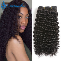 Бразильские Виргинские Волосы Kinky Curly 3 Связки / Много Необработанные Бразильские Человеческие Волосы Джерри Вьющиеся 8-28 Дюймов Для Черных Женщин Наращивание Волос