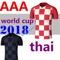 2018 World Up Soccer Jerseys 18 19 camiseta roja de local de fútbol 4 visitante PERISIC 7 RAKITIC 17 MANDZUKIC 11 SRNA 10 MODRIC