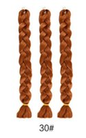 100 grams and 24 inches inof chemical fiber big braids mine ...