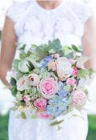 العروس القابضة زهرة الزفاف جميلة روز الفاوانيا القابضة زهرة متزوجة العروسة الوردي