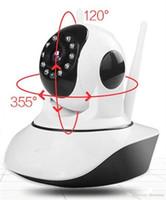 HD 720 P Sem Fio Wi-fi Pan Tilt Network Câmera IP Nuvem de Detecção de Movimento Infravermelho Noite para Câmeras de Segurança de Vigilância CCTV