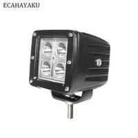ECAHAYAKU 1x 3-Zoll-12W LED-Arbeitslicht bar Auto Off-Road-SPOT-Flutlichter 4x4 SUV ATV 12v 24v Nebel Driving-Lampen-Birne