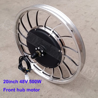 20inch 36V 500W electric bike motor  disk brake front 48V hu...
