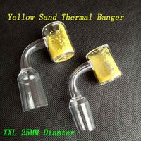 25mm OD XXL Quartz Thermochromic Bucket Banger Domeless Ther...