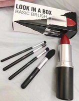 in stock New Hot Makeup Brand Look In A Box Basic Brush 4pcs...