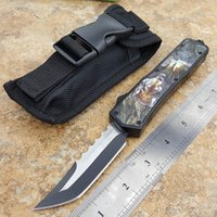 Mic Classic jump outdoor camping survival tactical knife, ca...