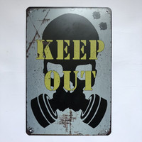 Keep Out Vintage Rustic Home Decor Bar Pub Hotel Restaurant ...