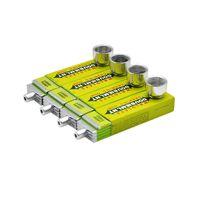 1 pz portatile set da fumo gomma da masticare tubo di metallo reggae tubo di alluminio giamaicano creativo mini reggae tubo di fumo