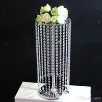 アクリルクリスタルビーズカーテンロマンチックなファッションの結婚式の誕生日フィールドプロップパーティーデスクトップの装飾飾りブリンスタイル68lm ZZ