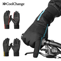 CoolChange Cycling Gloves Winter Thermal Waterproof Bicycle ...