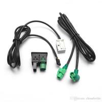 2019 VW RCD510 RNS310 OEM USB + AUX Switch Socket For VW Tiguan