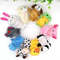 Animals Toys Finger Puppets 100pcs lot Cute Cartoon Fashion ...