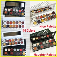 New makeup Naughty Nice Eyeshadow Palette Matte eye shadow S...