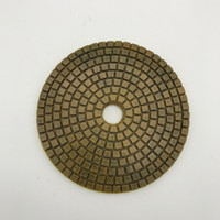 Diamond Metal Polishing Pad 5 inch (125 mm) for Granite Conc...