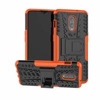 Pour le boîtier de la coque Oneplus 6T, étui de protection blindé hybride pour support d'armure de protection robuste pour Oneplus 6T / 1plus 6T.