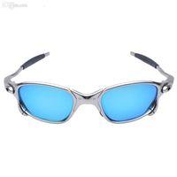 Al por mayor-Original Romeo Hombres gafas de sol de ciclismo polarizadas Aolly Juliet X Metal Sport Riding Eyewear Oculos ciclismo gafas CP005-2