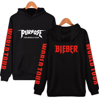Men New Pullover Fashion Hoodie Justin bIBER Letter Printed ...