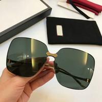 الموضة الجديدة 0352 الرجال النظارات الشمسية رجل بسيط النظارات الشمسية النساء شعبية النظارات الشمسية حماية الصيف في الهواء الطلق UV400 النظارات بالجملة مع حالة