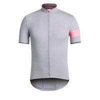 Rapha Equipo Pro Mens Cycling Jersey Camisetas de manga corta Carretera Trajes de bicicleta de verano Transpirable de verano Uniforme de bicicleta al aire libre Ropa Ciclismo S2103119