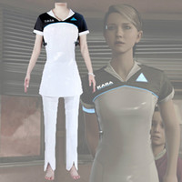 2018 Detroit: Become Human Cosplay Costumes Kara AX400 Cospl...
