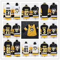 2019 Hóquei masculino 87 Sidney Crosby 81 Phil Kessel 71 Evgeni Murray 66 Lemieux 59 Guentzel Pittsburgh Penguins Terceiro Jerseys Amarelo